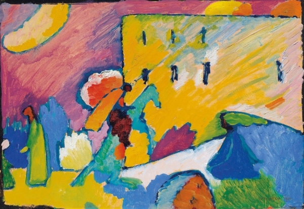 Improvisation III by Wassily Kandinsky (1909)