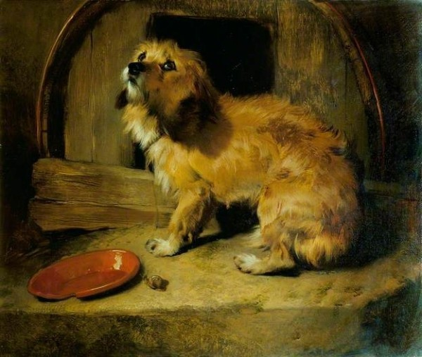 There's No Place Like Home (1842) by Sir Edwin Henry Landseer