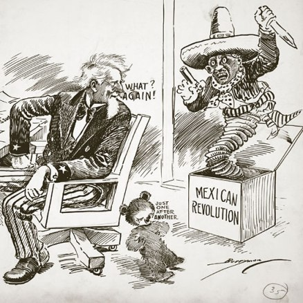 'What?...Again?' Cartoon by Clifford Kennedy Berryman in The Washington Star (1919)