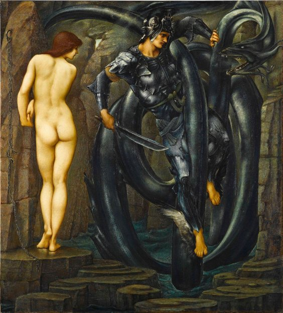 The Doom Fulfilled by Edward Burne-Jones (1888). Staatsgalerie, Stuttgart