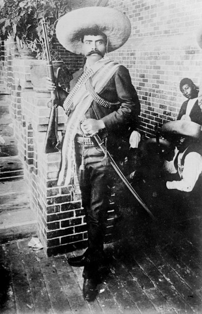 Emiliano Zapata, leader of revolutionaries in Morelos from 1911 to his assassination in 1919