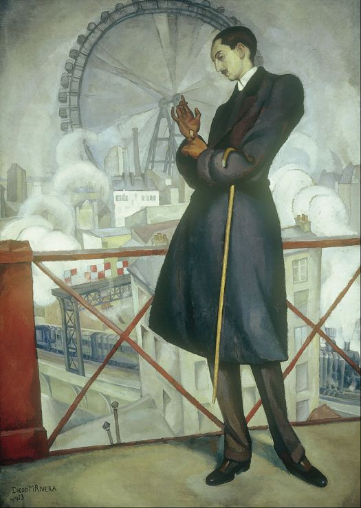 Portrait of Adolfo Best Maugard (1913) by Diego Rivera
