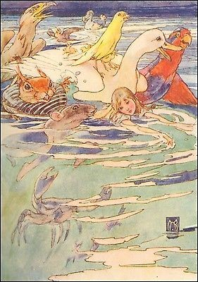 Alice in Wonderland by Alice B. Woodward (1913)