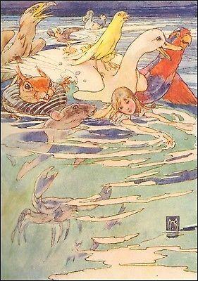 Alice in Wonderland by Alice B. Woodward (1913)