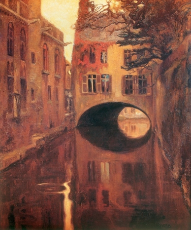 The House on the Bridge by Diego Rivera (1909)