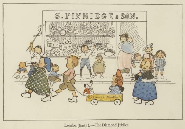 London (East) the Diamond Jubilee by Edith Farmiloe