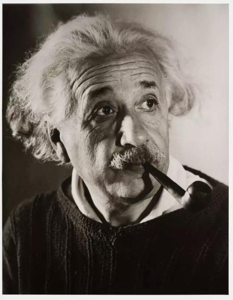 Albert Einstein by Roman Vishniac © Mara Vishniac Kohn