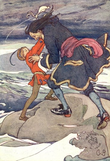 Illustration for the Peter Pan Picture Book (1907)