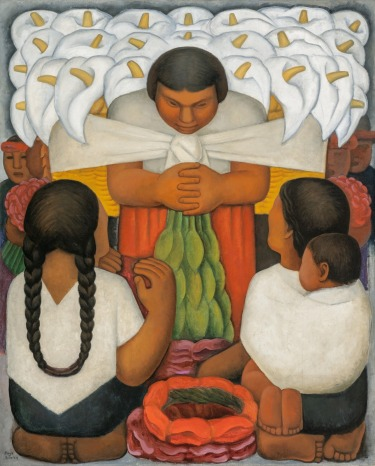 Flower Day by Diego Rivera (1925)