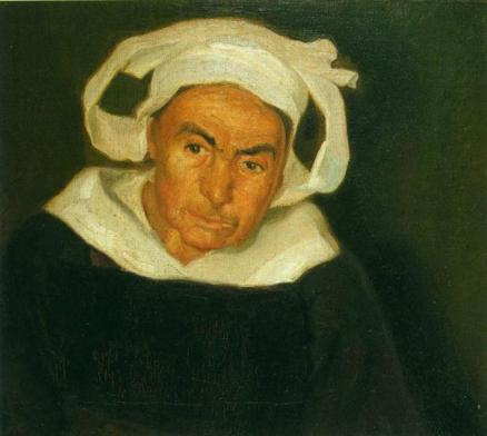 Head of a Breton Woman by Diego Rivera (1910)