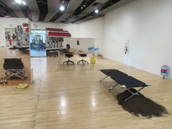 Installation view of 'Learn the Rules Like a Pro, So You Can Break Them Like an Artist!'. Photo by the author