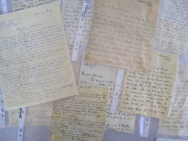 Letters to Heath Robinson from soldiers