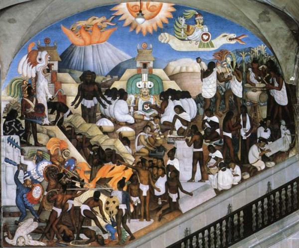 The Ancient World by Diego Rivera (1935)