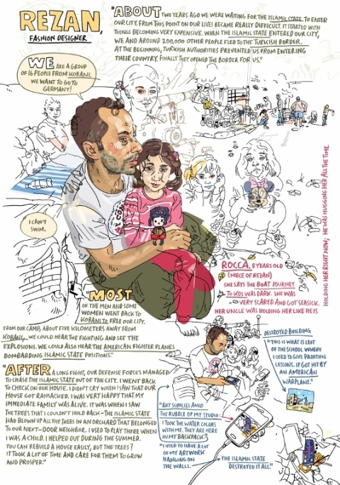 Rezan and Roca by Olivier Kugler (2015)
