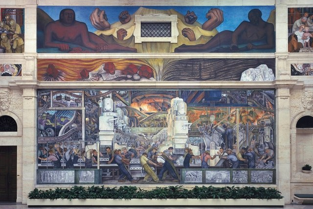 Diego Rivera: The Detroit Industry Murals by Linda Bank Downs ...