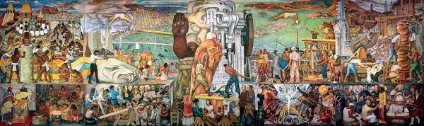 Pan American Unity by Diego Rivera (1940)