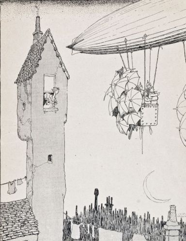 The Saintly Hun by Heath Robinson
