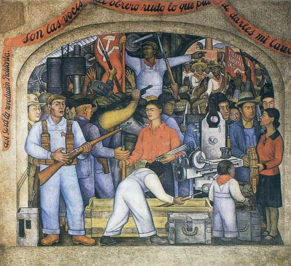 The Arsenal by Diego Rivera (1928)