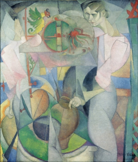 Woman at a Well by Diego Rivera (1913)