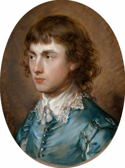 Gainsborough Dupont, the artist's nephew by Thomas Gainsborough (1773) Waddesdon (the Rothschild family)