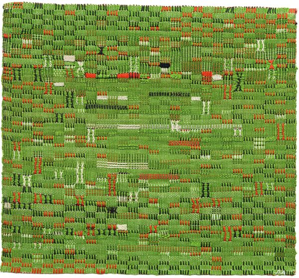 Pasture (1958) by Anni Albers. Cotton © 2018 The Josef and Anni Albers Foundation