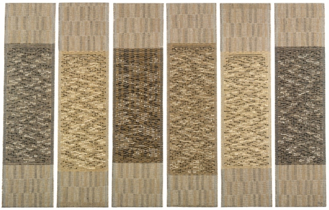 Six Prayers by Anni Albers (1966-7)