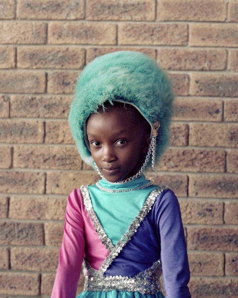Keisha Ncube, Cape Town, South Africa 2017 from the series Drummies by Alice Mann © Alice Mann