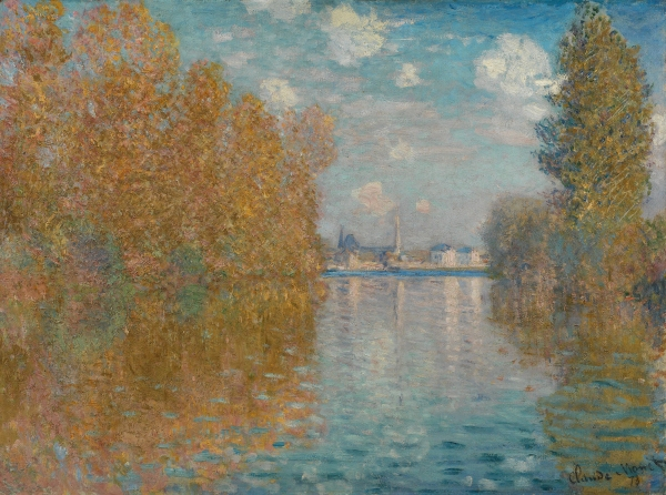 Autumn Effect at Argenteuil (1873) by Claude Monet © The Samuel Courtauld Trust, The Courtauld Gallery, London