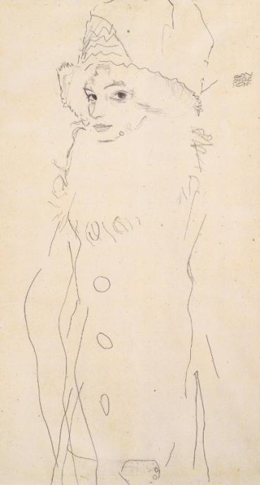 Gerti Schiele by Egon Schiele (1911)