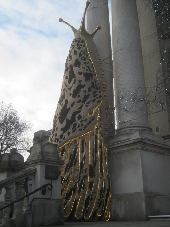 Monster Chetwynd's installation at Tate Britain. Photograph by the author