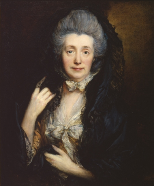 Margaret Gainsborough, the artist's wife by Thomas Gainsborough (1777) The Courtauld Gallery, London