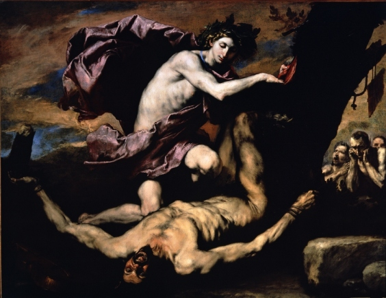 Marsyas and Apollo by Jusepe de Ribera (1637) Museo e Real Bosco di Capodimonte, Naples