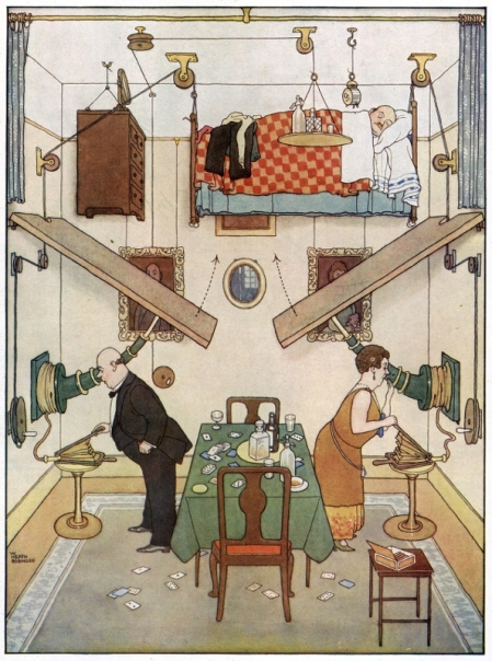 The spare room by William Heath Robinson