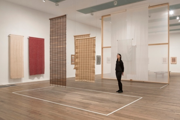 Installation view of Anni Albers at Tate Modern