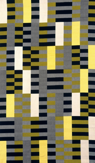 Wall Hanging (1926) by Anni Albers. Mercerized cotton, silk © 2018 The Josef and Anni Albers Foundation