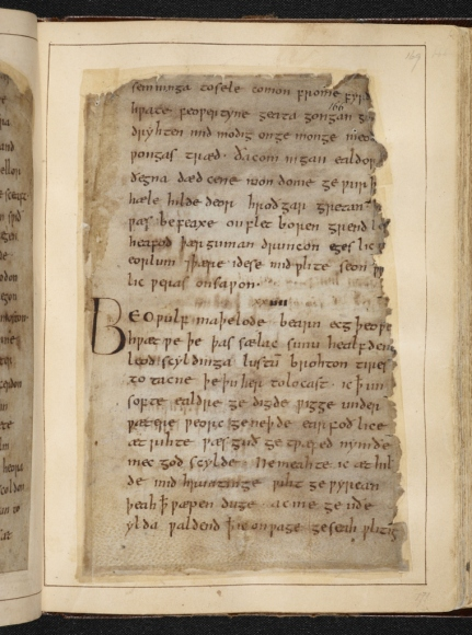 Beowulf © British Library Board