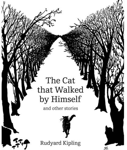 The Cat that Walked by Himself by Rudyard Kipling (1902) illustration by Kipling himself