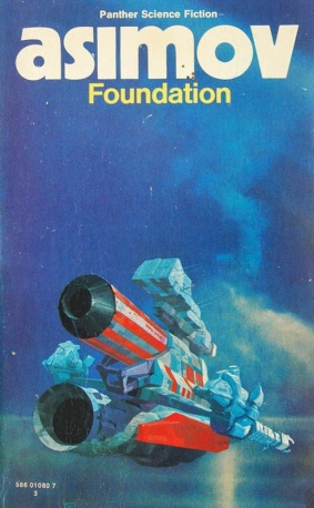 Foundation cover art by Chris Foss