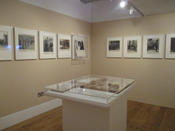 Installation view of Roman Vishniac Rediscovered at the Jewish Museum showing the room devoted to The Vanished World