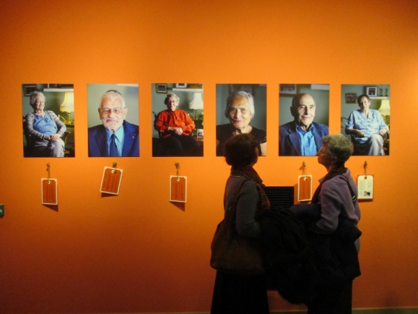 Installation view of Remembering the Kindertransport at the Jewish Museum