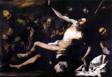 The Martyrdom of Saint Bartholomew by Jusepe de Ribera