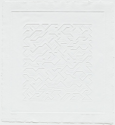 Mountainous I by Anni Albers (1978)