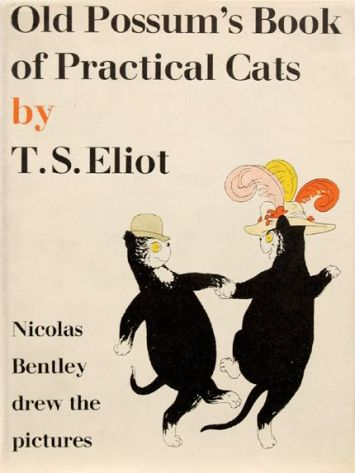 Old Possum's Book of Practical Cats by T.S. Eliot, 1940 edition illustrated by Nicolas Bentley