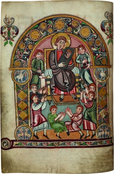 Vespasian Psalter © British Library Board