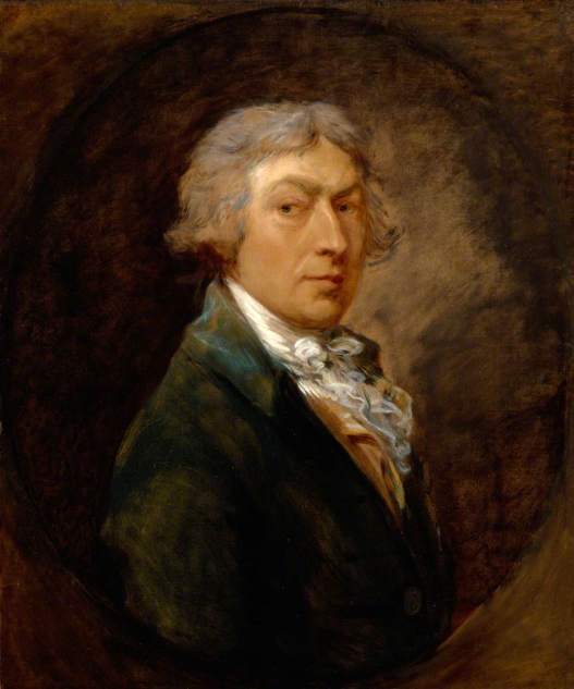Self Portrait by Thomas Gainsborough (1787) Royal Academy of Arts, London