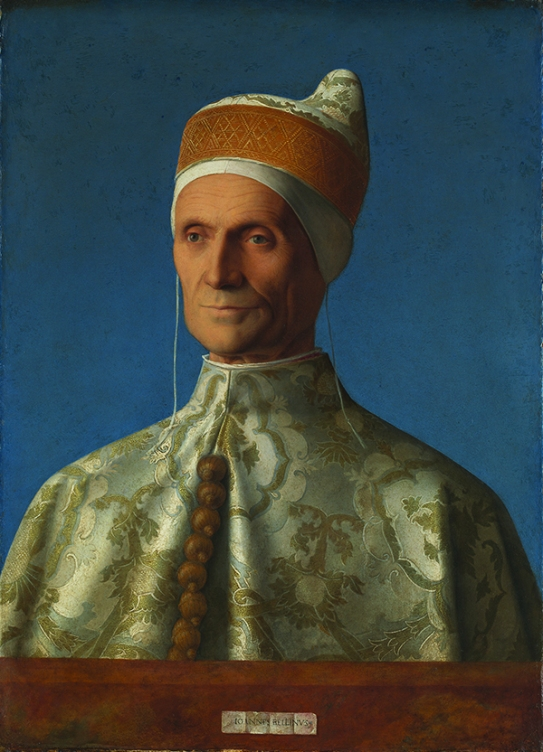 Doge Leonardo Loredan by Giovanni Bellini (about 1501-2) Oil on poplar © The National Gallery, London