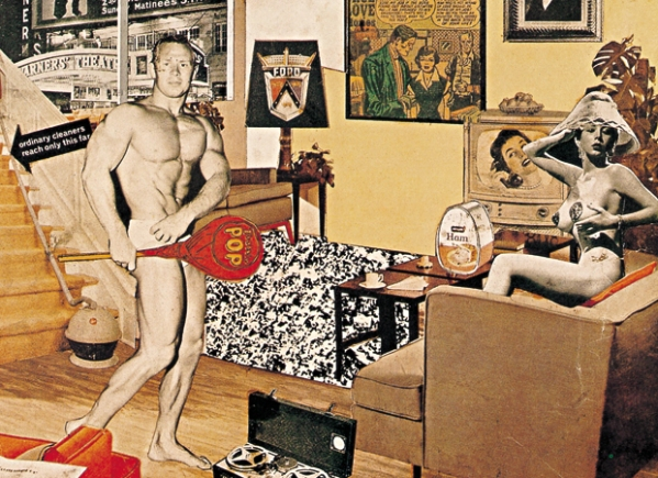 Just What Is It That Makes Today's Homes So Different, So Appealing (1956) by Richard Hamilton