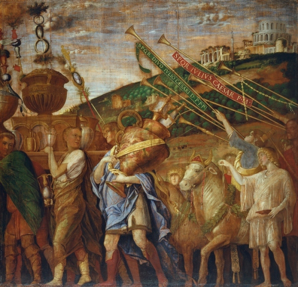 The Triumphs of Caesar IV: The Vase-Bearers (mid-1480s – before 1506) by Andrea Mantegna. Royal Collection Trust / © Her Majesty Queen Elizabeth II 2018