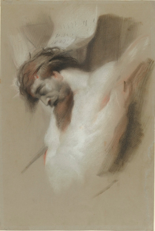 Christ on the Cross after Rubens (1840s) by Edwin Landseer. Royal Collection Trust © Her Majesty Queen Elizabeth II