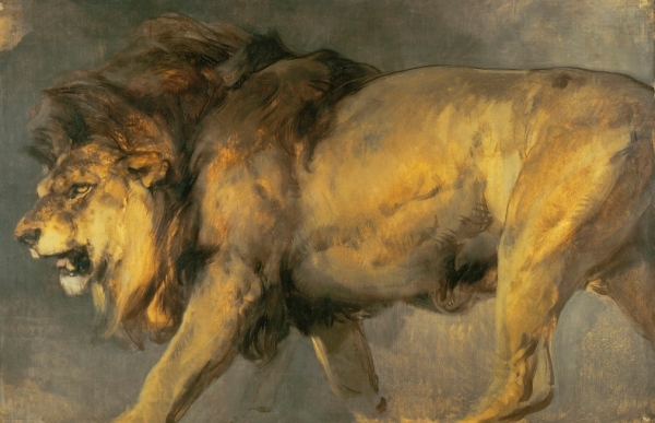 Study of a Lion (about 1862) by Edwin Landseer © Tate, London